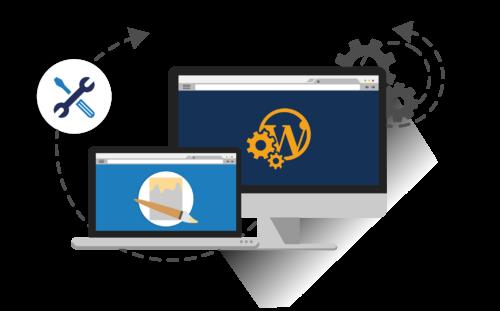 WordPress Entwickler Grafik